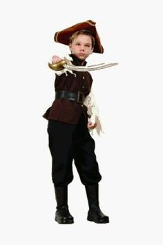 Amazon.com: Pirate Boy Costume: Toys & Games