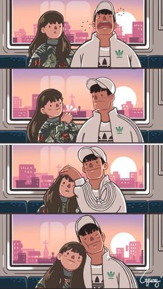 15 beautiful comics illustrated how a sweet relationship looks like - randomoverload couple cartoon, anime Love Cartoon Couple, Cute Couple Comics, Couples Comics, Cute Couple Art, Cute Comics, Funny Comics, Cute Couple Drawings, Cute Drawings, Cartoon Mignon