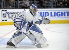 Freddie Andersen Toronto Maple Leafs 2017 Goalie NHL Hockey Hockey Goalie Gear, Hockey Teams, Hockey Stuff, Goalie Quotes, Maple Leafs Hockey, Hockey Pictures, Hockey Season, Goalie Mask, Toronto Maple Leafs