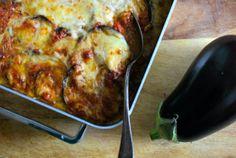 Parmigiana di Melanzane Dairy Free Recipes, Vegan Recipes, Fish And Meat, Veggie Dishes, Wine Recipes, Love Food, Mozzarella, Food To Make, Tasty