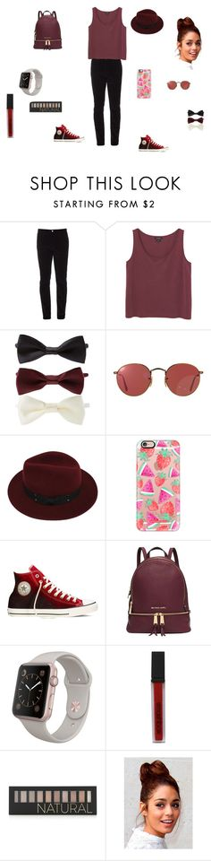 """perfect outfits"" by thushani-fernando on Polyvore featuring Gucci, Monki, Forever 21, Ray-Ban, Sans Souci, Casetify, Converse, Michael Kors and Smashbox"
