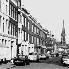 Rotterdam: De Oudaenstraat gezien vanaf de Jonker Fransstraat (1965)