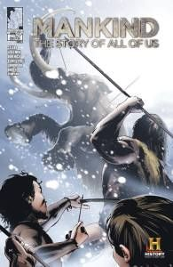 "Join HISTORY and Zenescope's YA Imprint, Silver Dragon Books, For a Little BBQ Celebrating ""MANKIND"", the Graphic Novels"