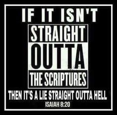 Many Churches Claim to be the 'True' Church of God, but I Tell you this, Unless your Doctrine Lines Up with the Word of God than your Doctrine is a LIE and is Leading Many to HELL.
