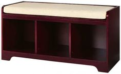 Wellman Cubby Bench - Benches - Entryway - Furniture | HomeDecorators.com