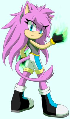 cool amy like she is a cool and girl form of silver kindu