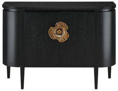 Image of Briallen Demi-Lune design by Currey & Company Floral Furniture, Furniture Ads, Black Furniture, Furniture Hardware, Rustic Furniture, Luxury Furniture, Living Room Furniture, Modern Furniture, Furniture Design