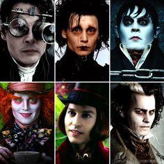 Johnny Depp ~~~  Tim Burton Characters