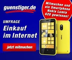 Macht mit bei unserer Umfrage und gewinnt ein Nokia Lumia 620! Bis Montag um 15.00 Uhr könnt ihr noch teilnehmen.