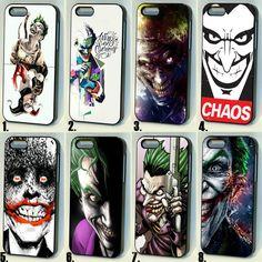 #Joker #comics character case cover for #iPhone 4s 5/5s/5c 6/6+/6s #Batman #HarleyQuinn #DC #dccomics #ebay #follow