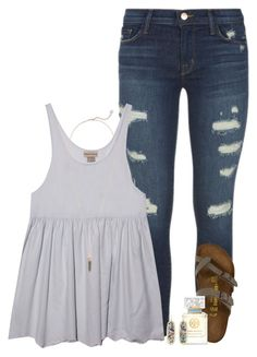 J Brand, Birkenstock, Kendra Scott, Tory Burch and country music Spring Outfits For School, Fall College Outfits, Fall Outfits, Summer Outfits, Casual Outfits, Fashion Outfits, Summer Country Outfits, Dress Summer, Fashion 2018