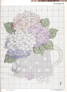 """Photo from album """"Cross Stitch Collection 161 on Yandex. Cross Stitch Kitchen, Cross Stitch Books, Just Cross Stitch, Cross Stitch Needles, Cross Stitch Flowers, Counted Cross Stitch Patterns, Cross Stitch Charts, Cross Stitch Designs, Cross Stitch Embroidery"""