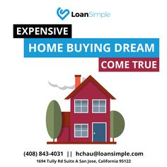 Expensive Home Buying Dream Come True!  For more info click here:..................................#FHALoan #LoanSimple #LowrateMortgageCompany #JumboLoans #MortgageRates #Mortgage #FHAloansoffer #Homeloan #VAloan #realestate #CreditScore #firsttimehomebuyer #QualifyMortgage #Savemoney #LoanLender