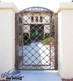 Decorative Wrought Iron Gate - SG0007A