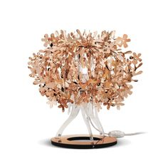 Weightless copper with heavy impact; this versatile bouquet will bring warm illumination to your nest. Which metallic finish is fit for you? #Fiorella www.slamp.com