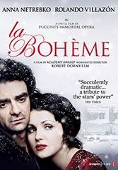 In 2009, La Boheme was adapted for the big screen starring soprano Anna Netrebko and tenor Rolando Villazon.