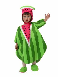#disfraz de sandía para #bebe