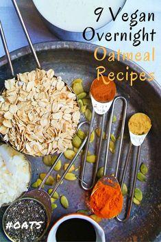 9 Cooling Vegan Overnight Oatmeal Recipes