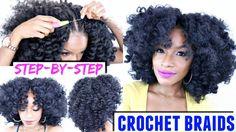 How To: Crochet Braids Step-by-Step Tutorial | X-Pression Cuevana Bounce - Black Hair Information Community