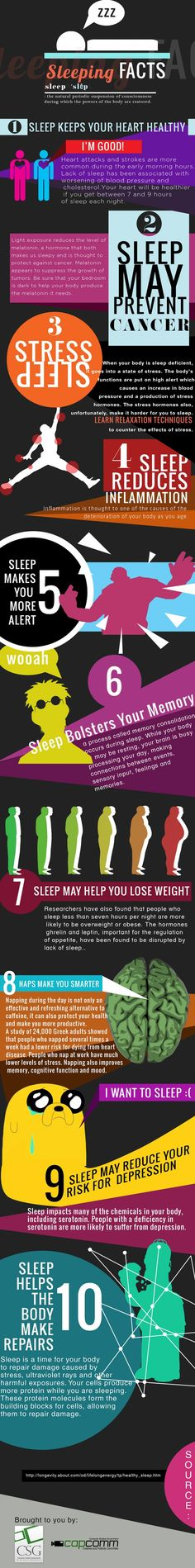 Sleep makes you smarter! So make sure that adequate sleep is one of your top priorities as a student, please! #sleep. #health