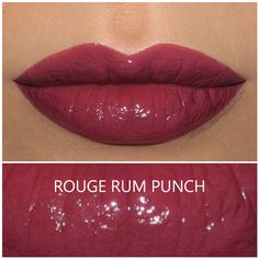 Shiseido Rouge Rouge lipstick in Rouge Rum Punch, review and swatches   Buy it here : http://rstyle.me/~9xCeT