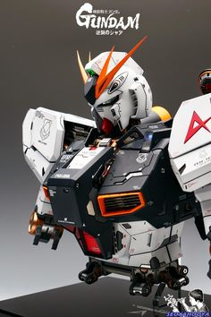 GUNDAM GUY: Neo Grade 1/35 RX-93 Nu Gundam Bust - Painted Build