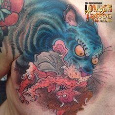 Work by Jee Sayalero - Humanfly Tattoo, Spain  @jeesayalero Done at the 10th Anniversary of the London Tattoo Convention 26-27-28 September 2014 Tobacco Dock  #londontattooconvention #tattoolifemagazine
