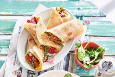 Een Italiaanse lunch of een origineel hapje bij de borrel? Het kan met de piadina allemaal. - recept - Allerhande