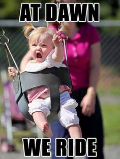 23 Funny Baby Memes That Are Adorably Cute - Let's do this! Funny Baby Memes, Funny Kids, Funny Cute, Baby Humor, Funny Stuff, Super Funny, Funny Things, Funniest Memes, Baby Memes