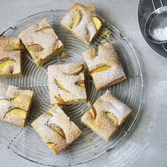 Top Chef winner Kristen Kish makes her simple olive oil cake with deliciously fresh summer peaches.