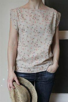 Burda pattern…. like the sleeve detail