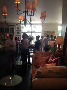#Mecox #Dallas was delighted to host #RondaRiceCarman of #AllTheBestBlog for a Sip and Sign featuring her first book, #DesignersAtHome, as well as #CollectiveThreeDesigns as they previewed their new #furniture line! #mecoxgardens #design #interiordesign #home #decor