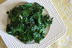 Garlic Sauteed Kale | Whole Eats & Whole Treats
