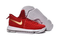 f51bc248cf0ca KD 9 ID Elite Flyknit University Red Hot Red China Shoes 2016   2017