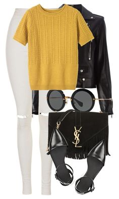 """""""Miu Miu x Alexander Wang"""" by xxxxxxxx1111 ❤ liked on Polyvore featuring Yves Saint Laurent, Topshop, Miu Miu, Alexander Wang, AlexanderWang, topshop, miumiu and fashionset"""