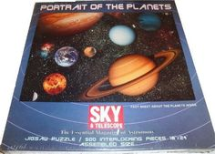 Sky & Telescope: Portrait of The Planets 500 Piece Puzzle by Nordevco, http://www.amazon.com/dp/B008D7SXI8/ref=cm_sw_r_pi_dp_Mt1tsb09QQ07M