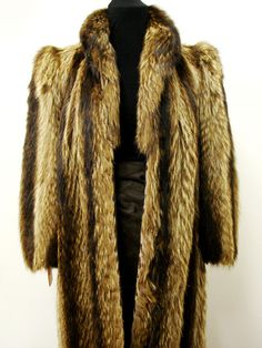 vintage silver FOX Fur Coat jacket sculpted arms M / L | Fur, Fur ...