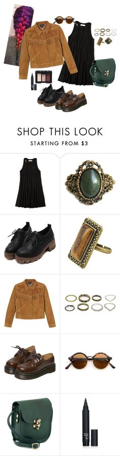 """""""tumblr"""" by katblack0 ❤ liked on Polyvore featuring Abercrombie & Fitch, Chicnova Fashion, Monki, WithChic and NARS Cosmetics"""