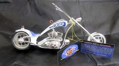 Phantasy Choppers 13009 Cherry Top Police Cop Theme Motorcycle Westland In box #PhantasyChoppers