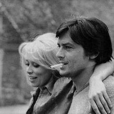 Alain Delon & Mireille Darc