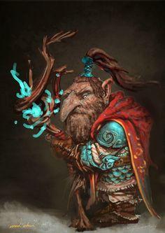 ArtStation - Dwarf fantasy03, Mad Chan