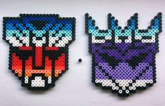 Are you an Autobot? Or a Decepticon? Or do you favour a bit of both? Whatever your faction there is a beadsprite for you! Available individually or as a pair, in magnet or beadsprite form. Please allow 1-3 days for shipping as each is made to order. Feel free to message me with any