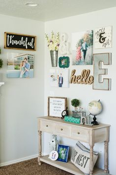 Tips and tricks for coming up with the best living room gallery wall ideas. I will also share where I found the best items for my gallery wall.