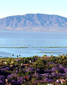 A photo of Lake Chapala of Ajijic Mexico This setting was the