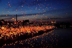 """世界で最も""""ラプンツェル""""に近いランタン祭り♥舞いあがる光が幻想的な""""聖ヨハネ祭""""   by.S"""