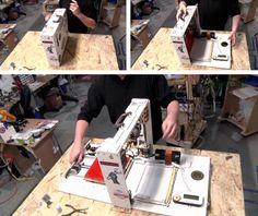 Ben Heck's portable 3D printer
