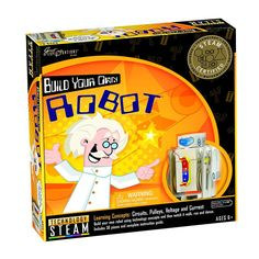 Build Your Own Robot-Fun-Educational-Ages 6+