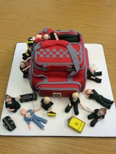 Paramedic Cake for my best friend