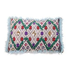 One-Of-A-Kind Moroccan Pillow