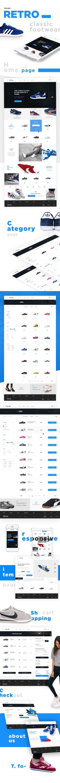 Retro Shoes Store